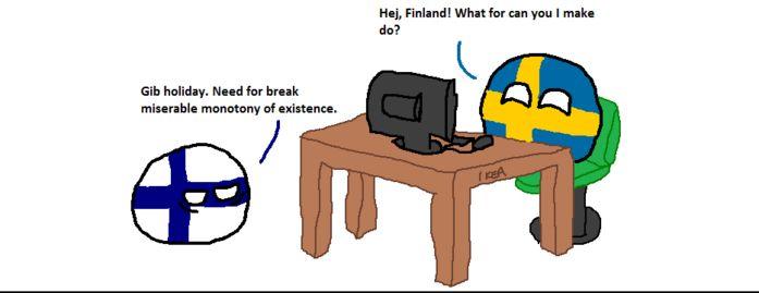 フィンランドが旅行の予約をするよ (1)