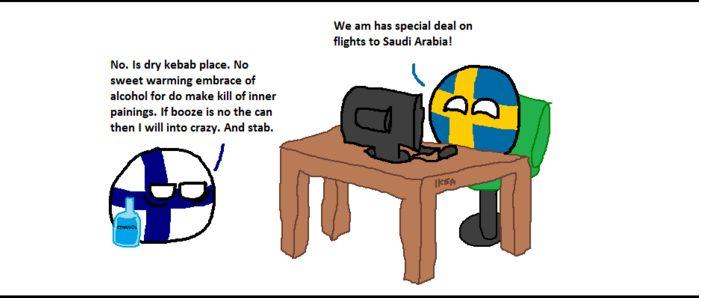フィンランドが旅行の予約をするよ (3)