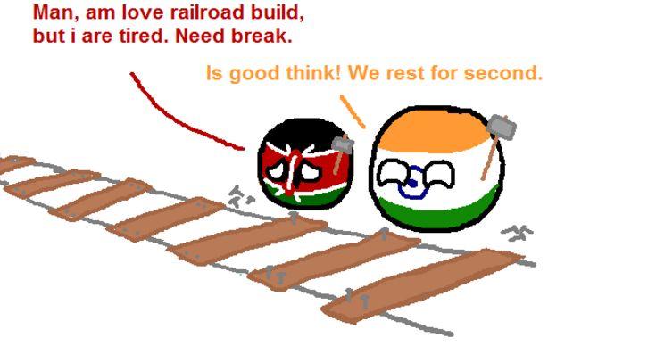 鉄道建設にて (1)