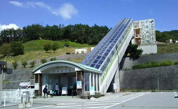 平岡山公園エスカレーター