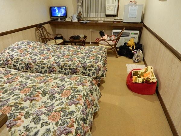 ペンションの部屋