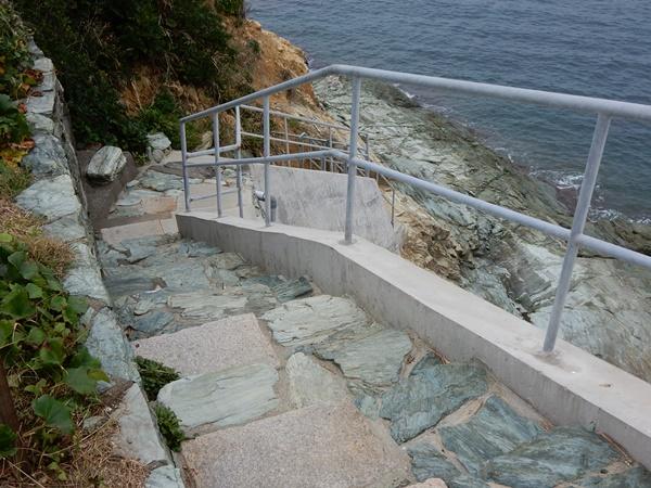 雑賀の浦階段