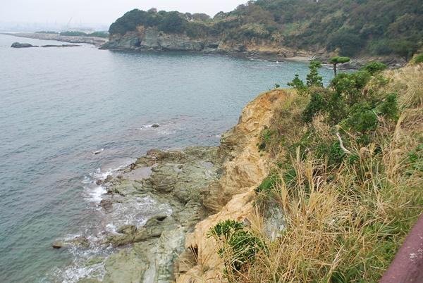 雑賀浜の海