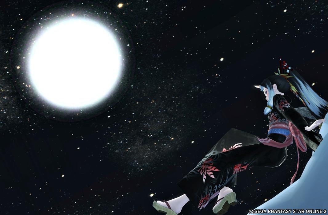 オラクルの月はでっかいわね~