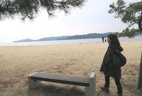 10)海岸散策