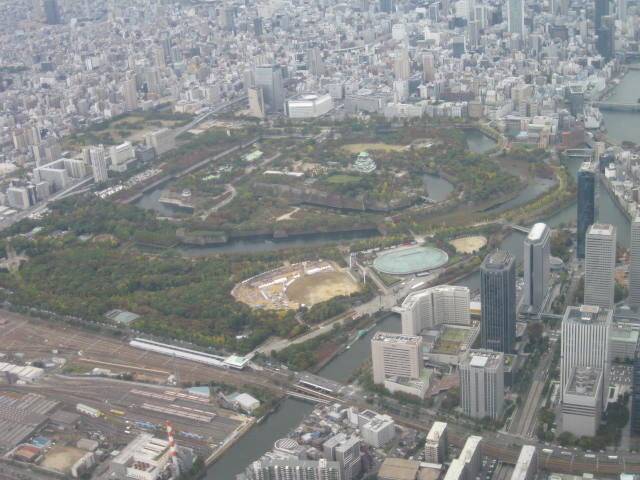 大阪城・・・