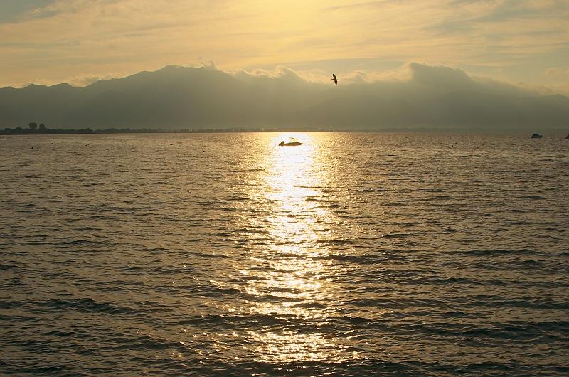 猪苗代湖の朝