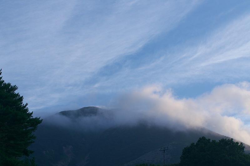 表磐梯の朝