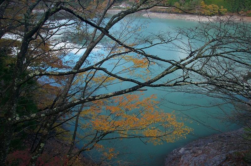 井川湖の紅葉 2