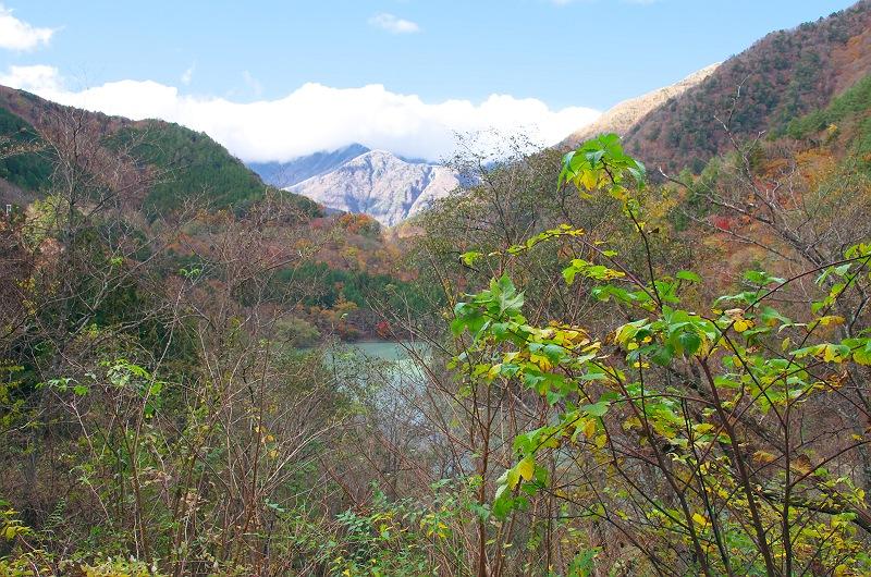 井川湖から更に上流へ