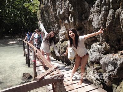 プーケット発しまかぜ案内人のピピ島、バンブー島ツアー