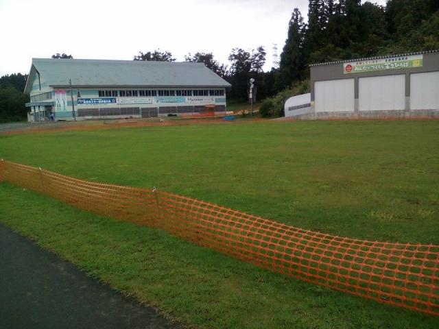 吉田クロスカントリー競技場の芝生