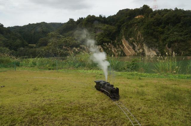 信濃川とC56 129