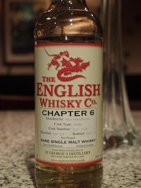 イングリッシュウイスキー Chapter6