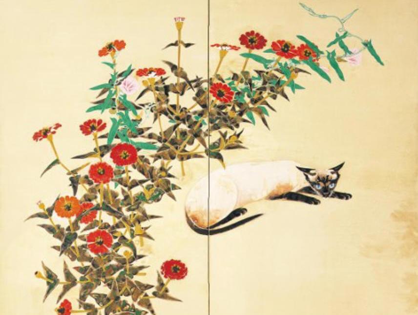 06中島清之花による猫 (856x644)