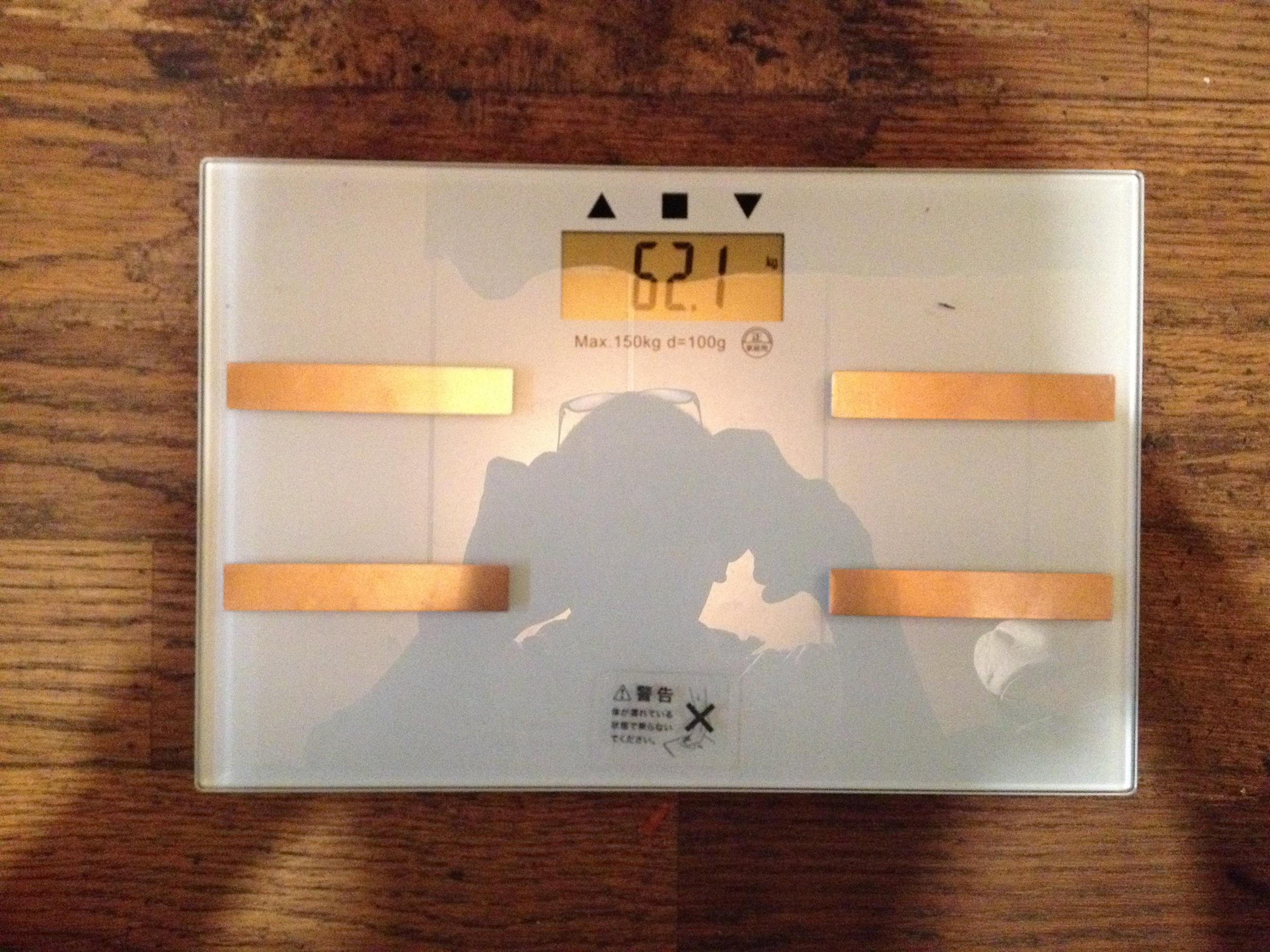ハイテク体重計
