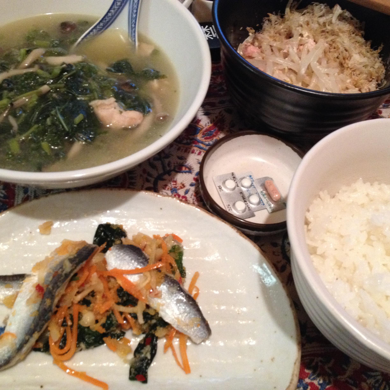 鶏スープ定食