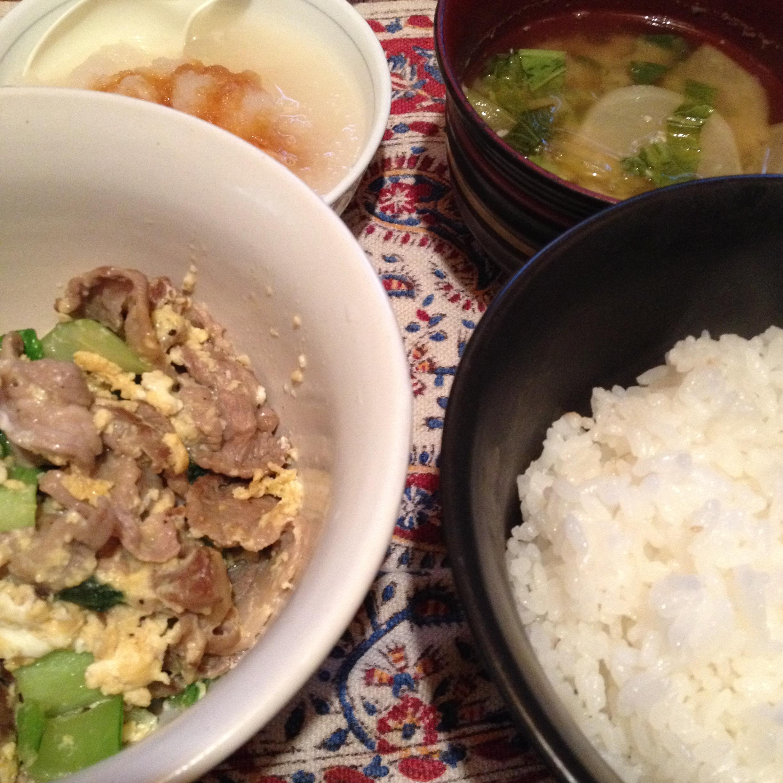 ラム炒め定食