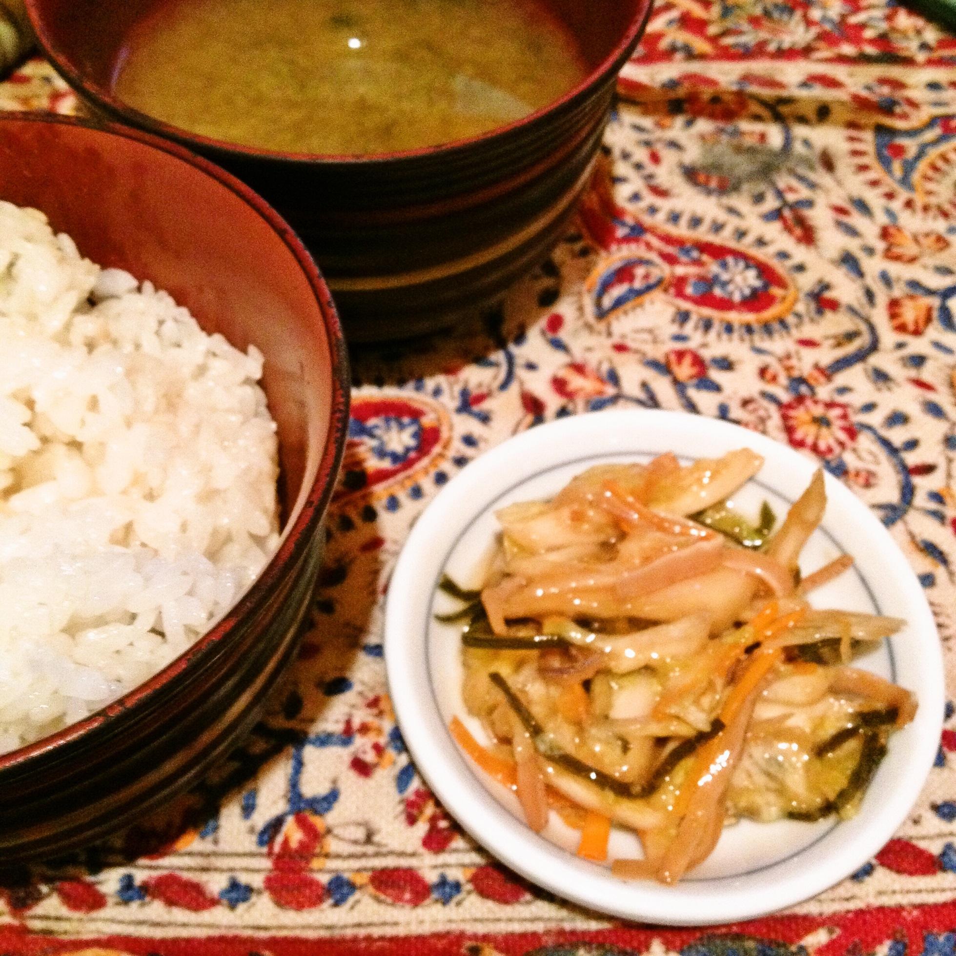松前白菜定食