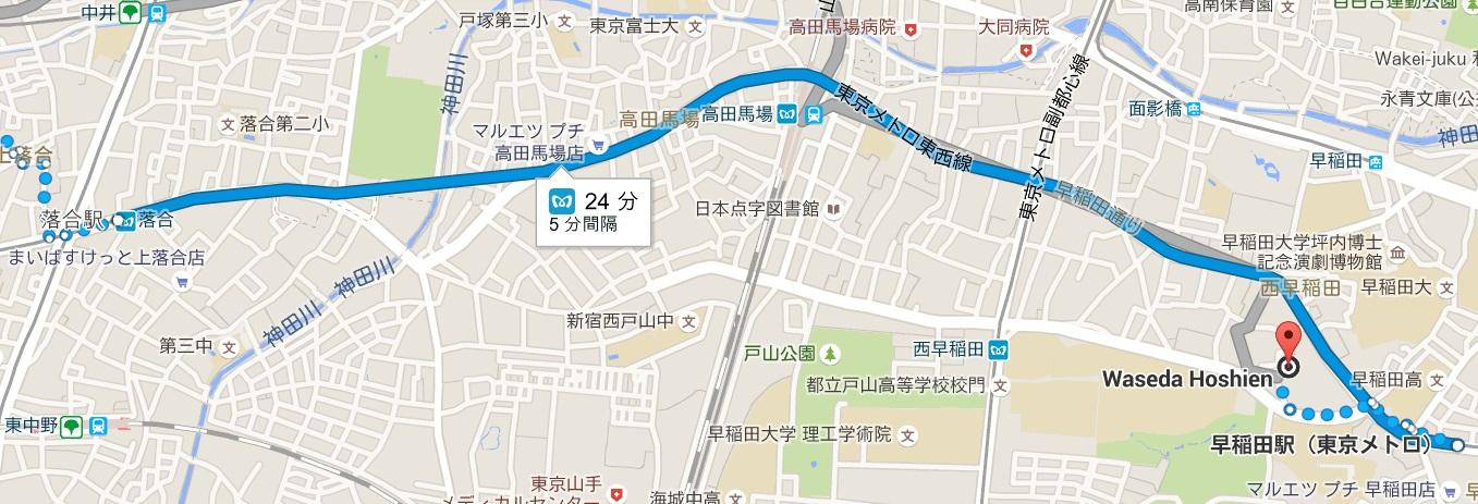 遠回りの地図