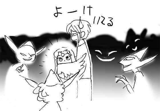 ゴブリンいっぱい(=ワ=;