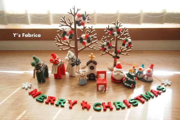 我が家もクリスマスモードに♪
