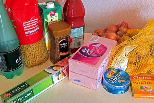 パリのスーパー