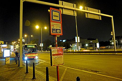 プラハ本駅バスターミナル