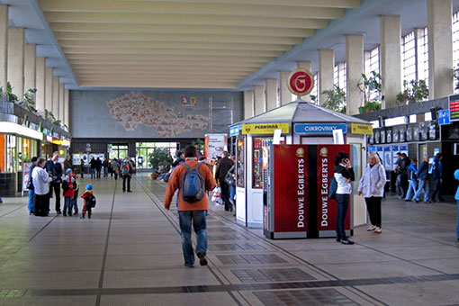 パルドゥヴィツェ駅
