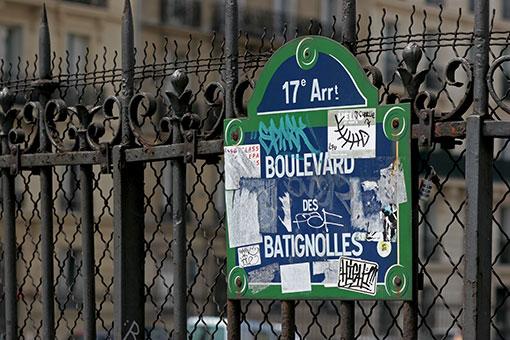 パリの道しるべ