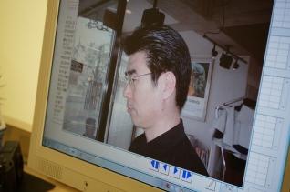 理髪店2001年4月