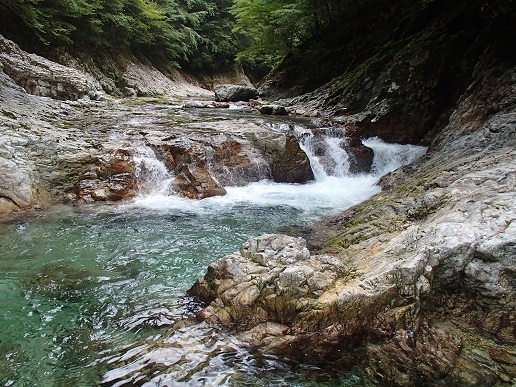 三条のナメ滝