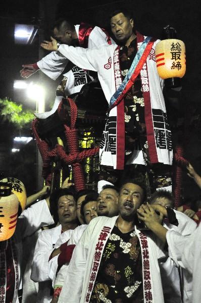 松山秋祭り 三津.厳島神社