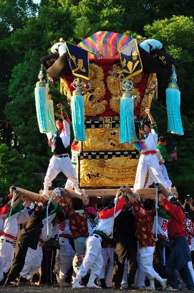 親睦太鼓台 香川県三豊市豊中町・五十鈴神社秋季大祭