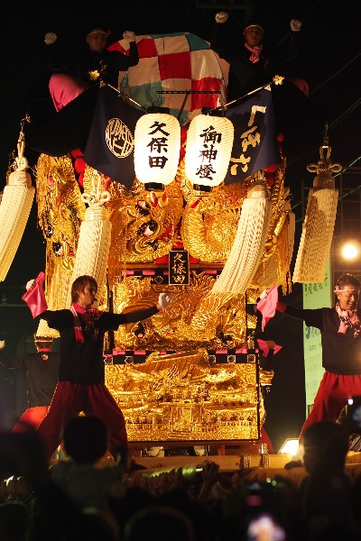 新居浜夏祭り 川西地区 久保田太鼓台