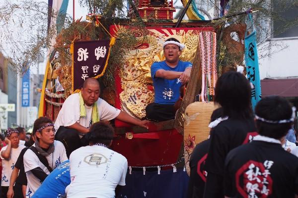 新居浜夏祭り 三島地区 明神丸