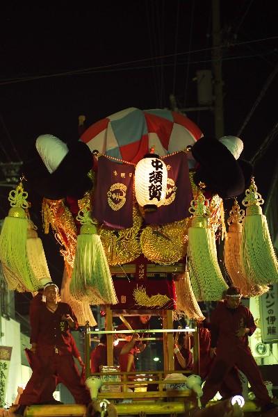 新居浜夏祭り 川西地区 中須賀太鼓台