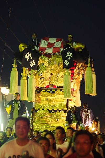 新居浜夏祭り 土居 野田太鼓台