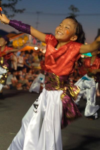 西条市 夏彩祭2015 ダンス