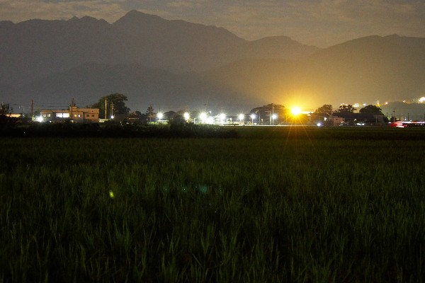 夜景 灯りの風景
