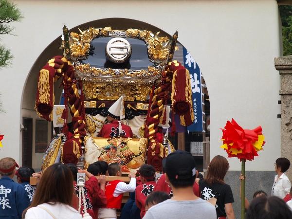 播州あきまつり 荒井神社