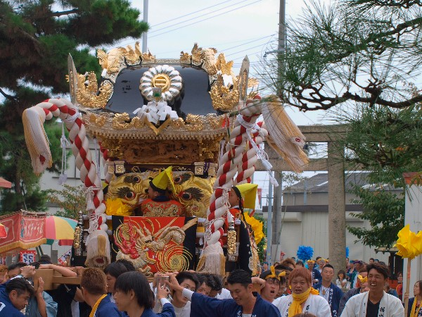 播州秋祭り 荒井神社秋祭り  宮入