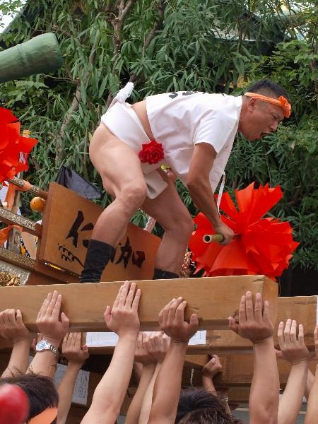 荒井神社秋祭り 荒井仁輪加太鼓