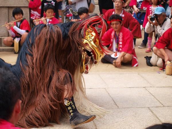 播州秋祭り 荒井神社秋祭り 獅子舞