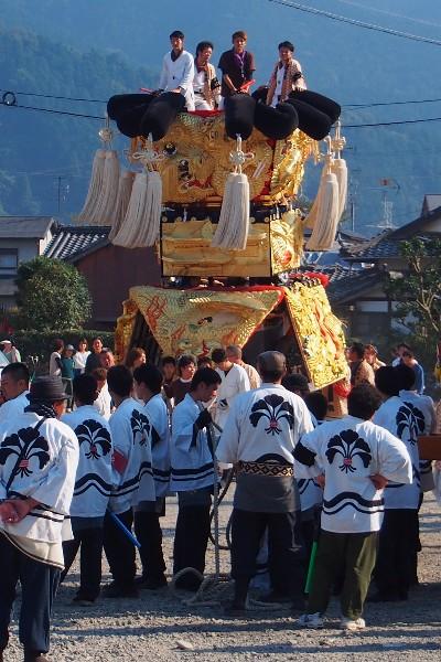 西条祭り お旅所(大町常心) 下喜多川みこし