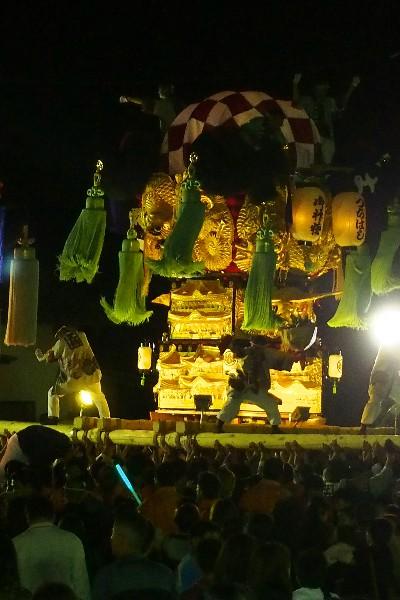 新居浜太鼓祭り 大生院バリュー店会場 土橋太鼓台