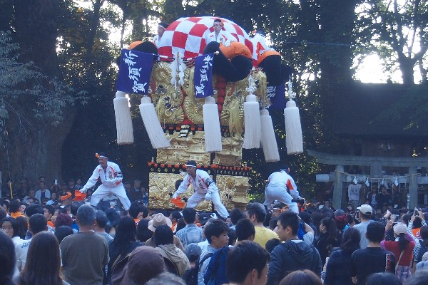 2015年新居浜太鼓祭り 川西地区 一宮神社宮入 新須賀太鼓台