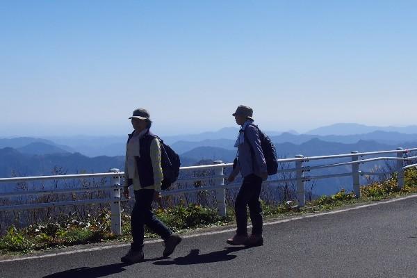 瓶ヶ森林道(UFOライン) 快適なドライブコース
