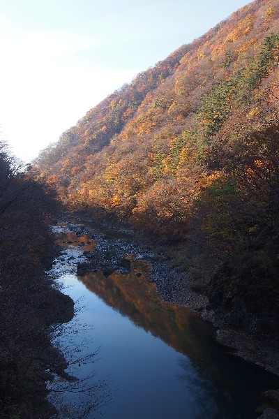 抱返り渓谷 東北の耶馬溪と称される風光明媚な景勝地