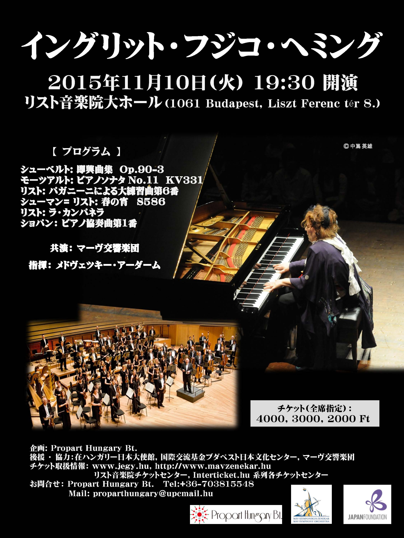 20151110 Concert plakat japanese